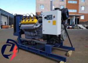 Газовая электростанция АГП-100 ЯМЗ-238М2 (100кВт) с генератором LINZ Pro 22M E/4
