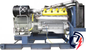 Газовая электростанция АГП-150 ЯМЗ-238ДИ (150кВт) с генератором Stamford UCDI274K1