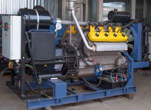 Газовый генератор 100 кВт, ГПУ-100, АГП-100, ГПЭС-100, ГЭС-100, на ЯМЗ-238, открытого типа, в режиме параллельной работы — синхронизация (производитель «Дизель-Систем»)