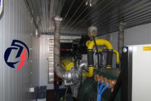 Когенерационная установка 315 кВт, газогенератор ГПЭС-315 Мини-ТЭЦ, ГПУ-315, АГП-315, ГПЭС-315, ГЭС-315, на ЯМЗ-8503, открытого типа, в режиме параллельной работы — синхронизация, с когенерацией тепла — системы утилизации (производитель «Дизель-Систем»)