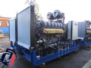 Дизельная электростанция АД-315 (ЯМЗ-8503.10) (315 кВт) с генератором Linz PRO28LG/4
