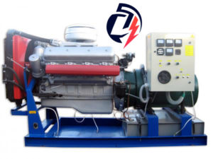 Дизельная электростанция АД-120 ЯМЗ-236БИ (120 кВт) с генератором Marelli Motori MJB 250MA4