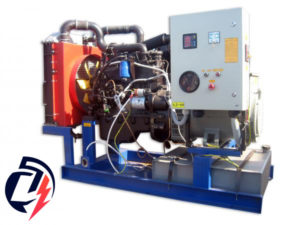 Дизельная электростанция АД-50 ММЗ (50 кВт) с генератором Linz PRO 18LF/4