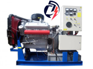 Дизельная электростанция АД-75 ЯМЗ (75 кВт) с генератором БГ-75/БГО-75