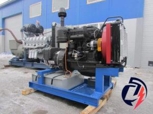 Дизельная электростанция АД-16 ММЗ (16 кВт) с генератором Linz SLT 18MD
