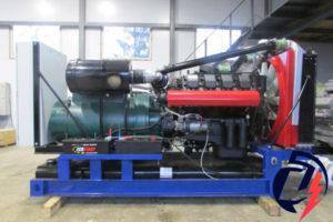 Дизельная электростанция АД-300 (ТМЗ-8435.10) (300 кВт) с генератором Linz PRO 28LG/4
