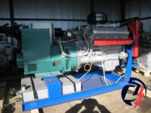 Дизельная электростанция АД-100 ЯМЗ-238М2 (100 кВт) с генератором Marelli Motori MJB 225LA4