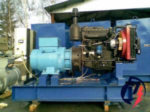 Дизельная электростанция АД-30 ММЗ (30 кВт) с генератором Linz PRO 18ME/4