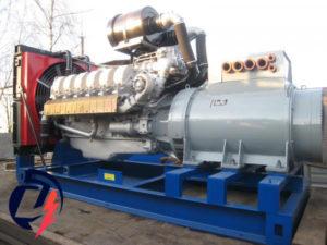 Дизельная электростанция АД-350 ЯМЗ-8503.10 (350 кВт) с генератором Marelli Motori MJB 355SA4