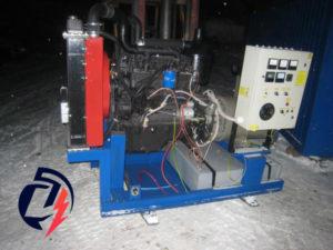 Дизельная электростанция АД-60 ММЗ (60 кВт) с генератором Leroy Somer TAL