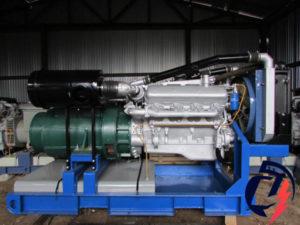 Дизельная электростанция АД-200 ЯМЗ-7514.10  (200 кВт) с генератором БГ-200