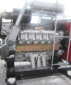 Силовой агрегат ПД-500 (ЯМЗ-8502.10 с МОМ и диафрагменным сцеплением ЯМЗ 187)