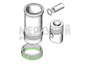Кольцо упл. на гильзу (силикон)